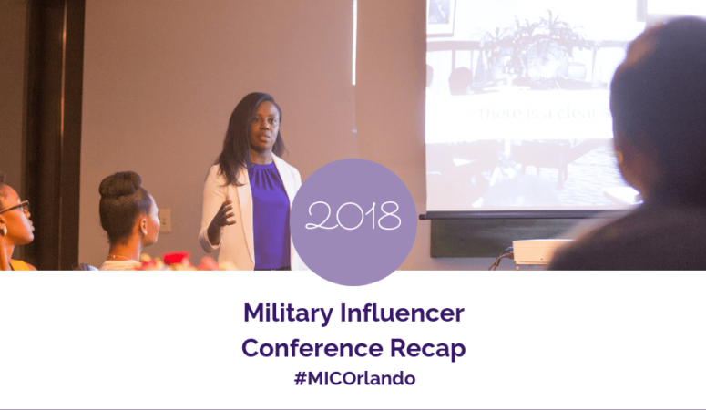 2018 Military Influencer Conference Recap | MICOrlando