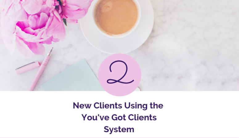 She Set A Goal For 2 New Clients. Here's What Happened.