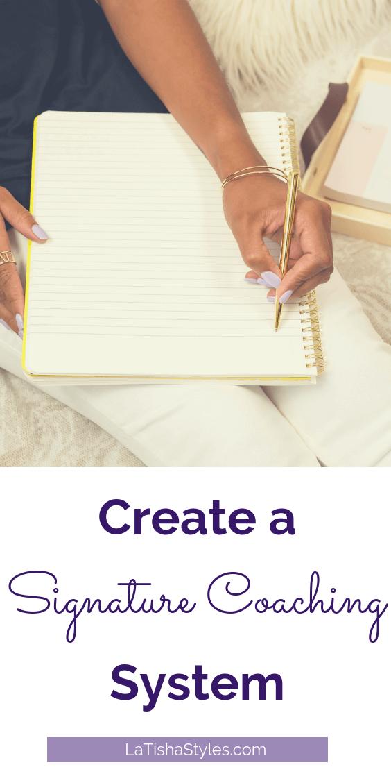 Pinterest Create a Signature Coaching System