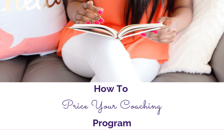 How To Price Your Coaching Program